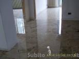 Levigatura pavimenti in marmo, granito, cotto, leg