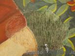 Restauratrice dipinti murali e mobili