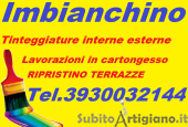 imbianchino cartongessista