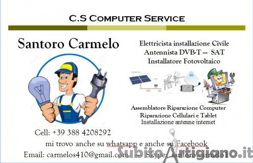 Elettricista civile e fotovoltaico