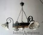 Lampadari e applique rustici nuovi