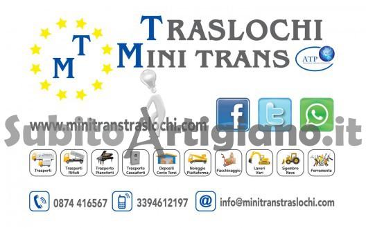 TRASLOCHI - TRASPORTI-DEPOSITI